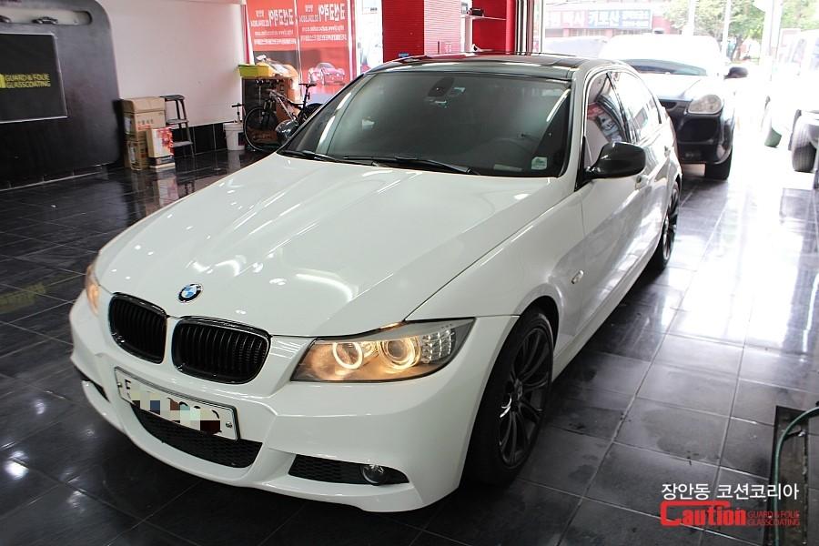 BMW 320d 루프스킨 (필름제거 > 재시공)