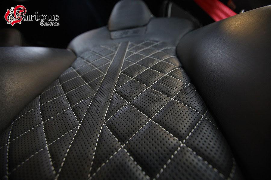 아우디 S6의 순정시트 그대로 만든 통풍시트
