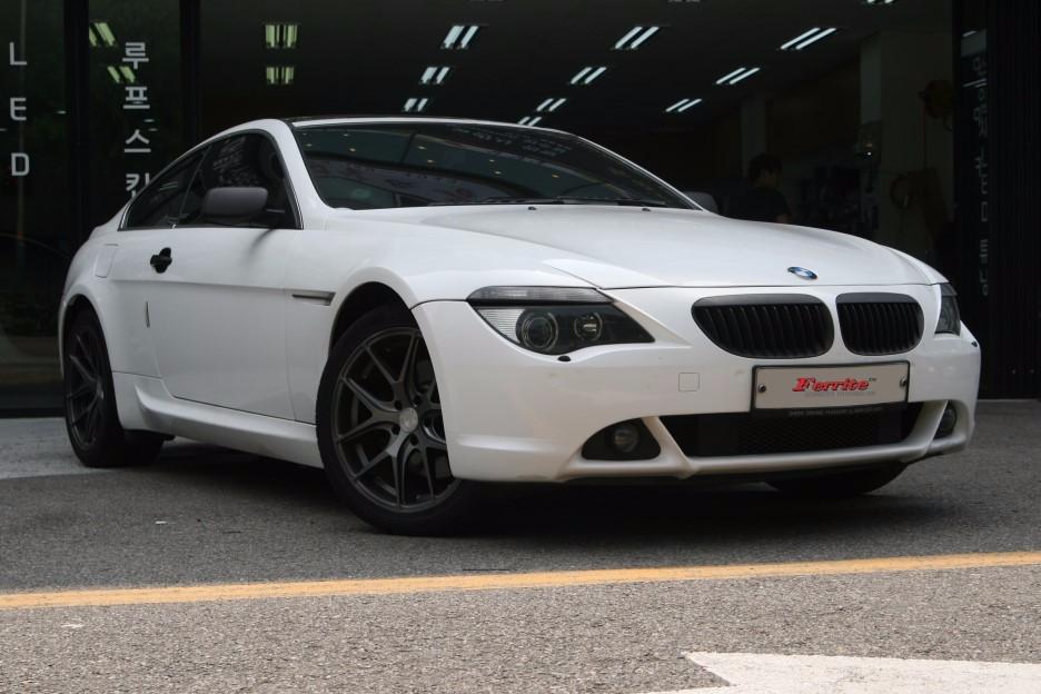 보기 힘든 BMW 645C LED링마커 화이트 교체 시공
