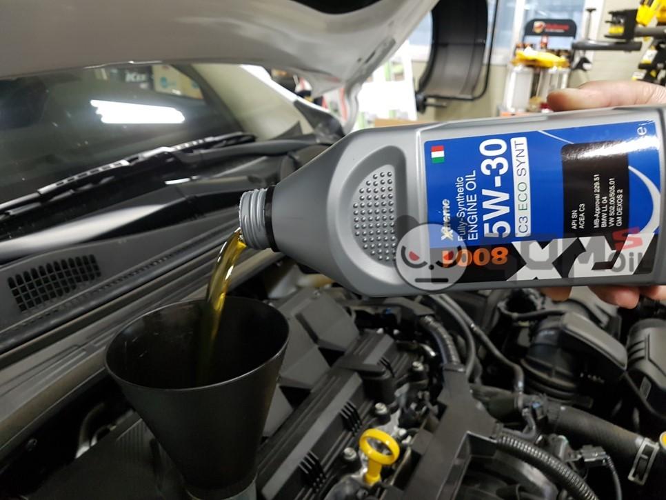 올뉴 K3 익스트림 RX 8001 5W30 엔진오일 교환